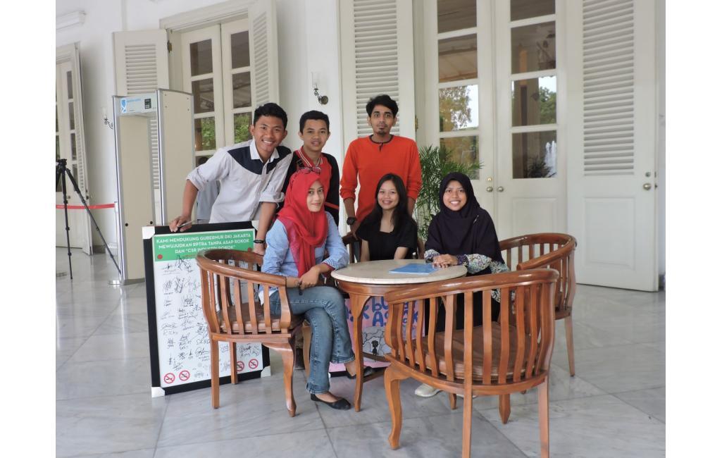 Aksi Tolak Keterlibatan CSR Rokok Di RPTRA