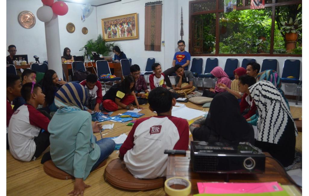 Dokumentasi Kegiatan Hari Keempat Training Pembaharu Muda