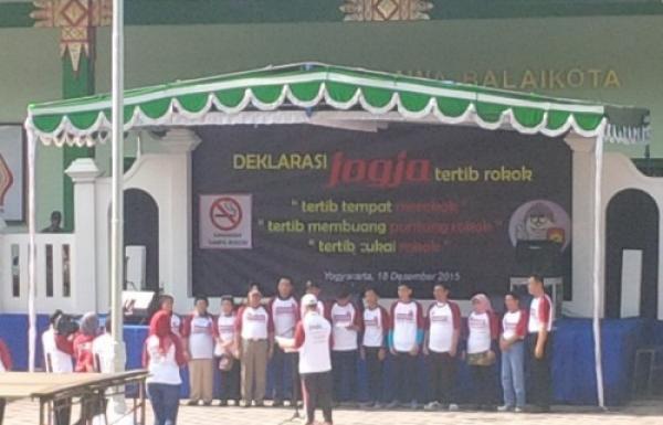 Deklarasi Jogja Tertib Rokok