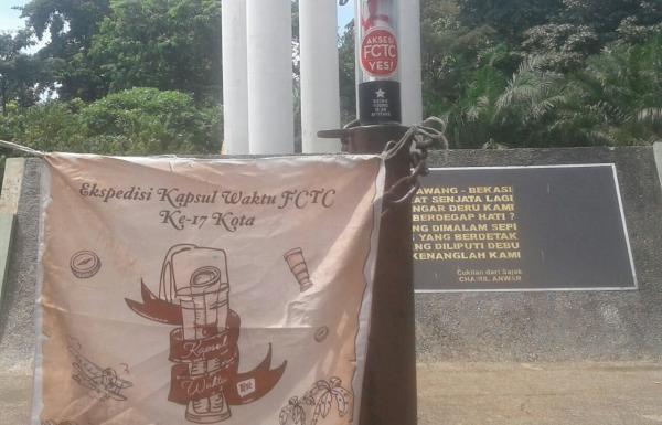 Ekspedisi Kapsul Waktu FCTC: Bekasi dan Jakarta