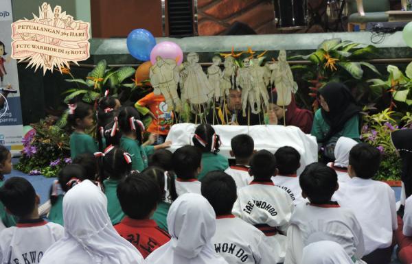 Petualan 365 Hari FCTC Warrior ke 25 Kota menyinggahi Kota Tangerang Selatan