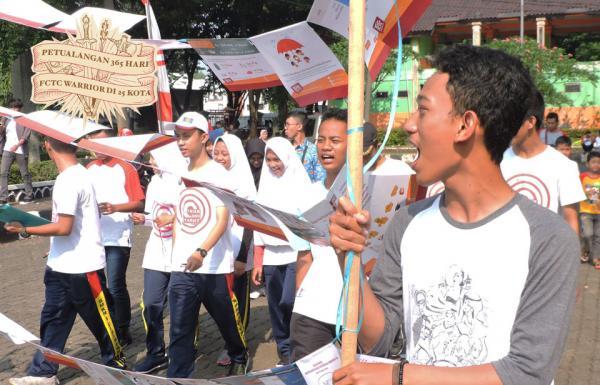 Dukung Bogor jadi Kota Layak Anak, Warrior Bogor minta Pemda Melarang Total Iklan Promosi dan Sponsor Rokok
