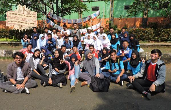 Singgahi Kabupaten Bogor, Ini Aksi Petualangan FCTC Warrior.